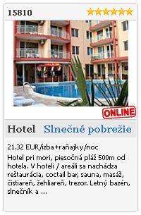 Limba.com - Slnečné pobrežie, Hotel, Ubytovanie 15810