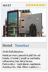 Limba.com - Nesebar, Hotel, Ubytovanie 16157