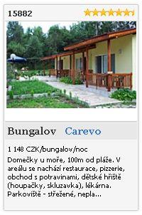 Limba.com - Carevo, Bungalov, Ubytování 15882