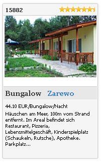 Limba.com - Zarewo, Bungalow, Unterkunft 15882