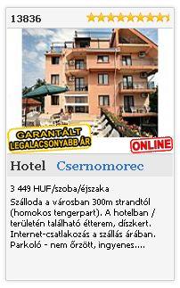 Limba.com - Csernomorec, Hotel, Szállás 13836