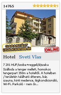 Limba.com - Sveti Vlas, Hotel, Szállás 14765