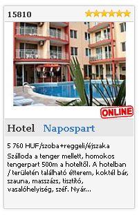 Limba.com - Napospart, Hotel, Szállás 15810