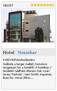 Limba.com - Neszebar, Hotel, Szállás 16157