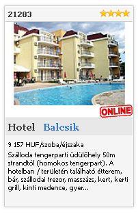 Limba.com - Balcsik, Hotel, Szállás 21283