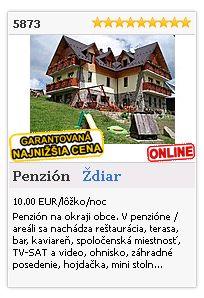 Limba.com - Ždiar, Penzión, Ubytovanie 5873