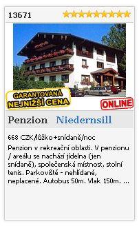 Limba.com - Niedernsill, Penzion, Ubytování 13671