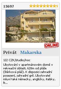 Limba.com - Makarska, Privát, Ubytování 15697