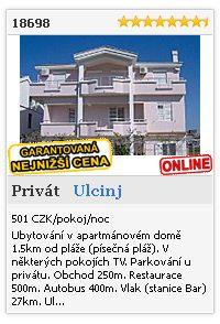Limba.com - Ulcinj, Privát, Ubytování 18698
