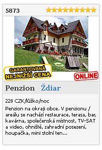 Limba.com - Ždiar, Penzion, Ubytování 5873