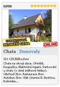 Limba.com - Donovaly, Chata, Ubytování 6898