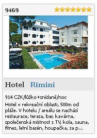 Limba.com - Rimini, Hotel, Ubytování 9469