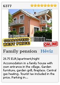 Limba.com - Hévíz, Family pension, Accommodation 6377