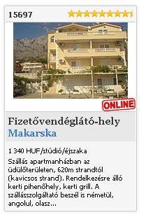 Limba.com - Makarska, Fizetővendéglátó-hely, Szállás 15697