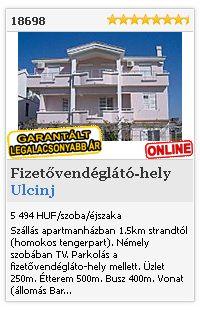 Limba.com - Ulcinj, Fizetővendéglátó-hely, Szállás 18698