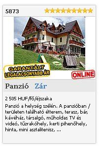 Limba.com - Zár / Ždiar, Panzió, Szállás 5873